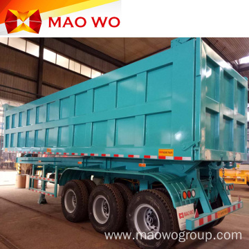 Customized 3 Axle 60ton Dump Trailer for Sale